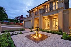 This classic French provincial style home was designed and built with luxury living in mind.