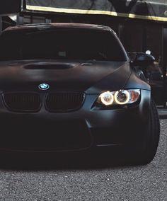 Matte black #BMWM3