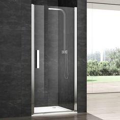 Porte de douche battante 6mm, de 80 à 100cm  'VERA' PDPLAN €500
