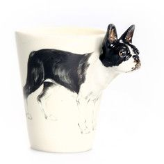 Boston Terrier Mug, $29, now featured on Fab.