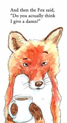 Such an old illustration that's totally relevant to the fox song that went viral.