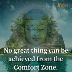 No great things cab be achieved from a comfort zone.