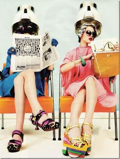 1960s Hair Salon By Tracey Formative Years 1970s Pinterest