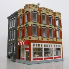 The Coke Building: A LEGO® creation by Spencer R. : MOCpages.com