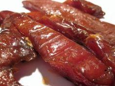 homemade pork jerky recipe