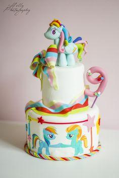 #Rainbowdash #cake #minipony www.lallabycakes.blogspot.it