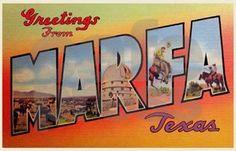 Marfa, Texas - Vereinigte Staaten von Amerika / United States of America / USA