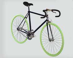 Ecco la mia bicicletta Cicli Maestro personalizzata