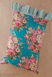 Flower Burst Pillowcase by April Cornell