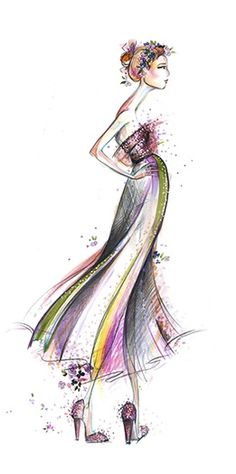 Artist and illustrator maryanne oliver 39 s beautiful girls Fashion design schools in philadelphia