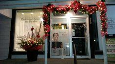 Devoration extérieur que j'ai réalisée pour Salon esthétique Jessy. Ste Emelie.