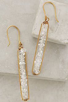 Herkimer Matchstick Earrings by Roost $39.95 Anthropologie