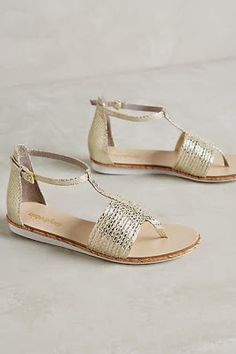 bd403d4fe2d9  anthrofave Gold Sandals
