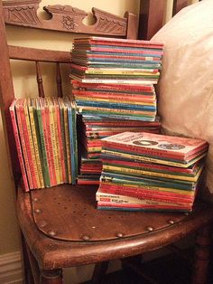 My Secret Stack Of Vintage Ladybird Books! by Vintage Pleasure and Agnes Darling on Flickr.