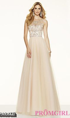 Illusion Sweetheart Open Back Prom Dress by Mori Lee at PromGirl.com