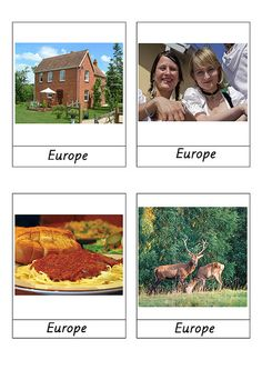 continent cards Geography Activities, Teaching Geography, World Geography, Teaching History, History Education, Montessori Preschool, Montessori Education, Montessori Materials, Around The World In 80 Days