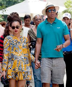 Perfect for the Florida summer, minus the celebrities and the Cuban cigar! Beyonce & Jay Zs Sexy Romance: April 3, 2013