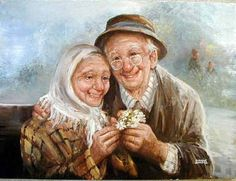Diamond Painting Elderly Couple in Love Kit Offered by Bonanza Marketplace. Diamond Painting Elderly Couple in Love Kit Offered by Bonanza Marketplace. Elderly Couples, Old Couples, Couples In Love, Vieux Couples, Number Drawing, Retro, Growing Old Together, Illustration, 5d Diamond Painting