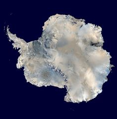 Antartica from space via the ISS not celestial in itself but a nice change!