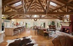 Living Room Den Kitchen House Horse Property Solvang CA