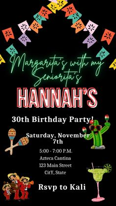 #birthday #wedding #invitations #bridesmaids Destination Wedding Invitations, Graduation Party Invitations, Engagement Party Invitations, Bridal Shower Invitations, Electronic Save The Date, Fiesta Theme Party, Sweet 16 Invitations, 30th Birthday Parties, Glow Party