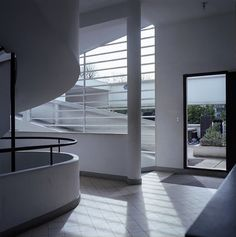 An interior from the Villa Savoye, by Le Corbusier, 1928-1931, Poissy, France. / Flickr