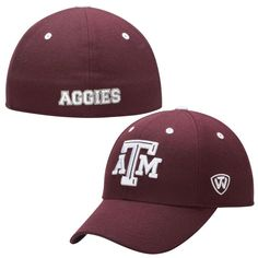 Texas A&M Aggies Top of the World Dynasty Memory Fit Fitted Hat – Maroon
