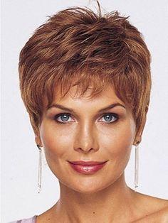 Perruque courte sur mesure cheveux naturels de lace front - Photo 1