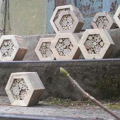 Hexagon Widbienenhotel.