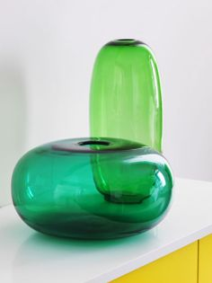 Add a simple touch of green this St. Patrick's Day with STOCKHOLM vases.