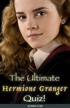 How much do you REALLY know about Hermione Granger? Take this trivia quiz based on Emma Watson's character, Hermione Granger from Harry Potter. Jk Rowling. Harry Potter Trivia.