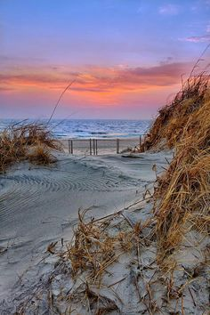 Daybreak on the Outer Banks of North Carolina