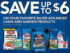 Printable Rebate Forms: $6 Bayer Advanced Lawn & Garden!