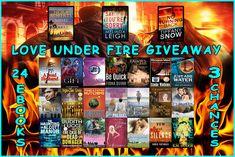 Win 24 e #books!  Love Under Fire #Giveaway #Romance #Suspense #Mystery