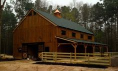 Timber Frame Barns & Post and Beam Barns