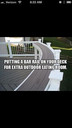Want this for backyard/patio renovations! :)