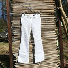 4379c236568 Adriano Goldschmied the Club Well-Fitted Jeans, White, Size 25, Great  Condition
