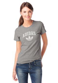 Größenhinweis , Fällt eng aus, bitte eine Größe größer bestellen., |Produkttyp , T-Shirt, |Materialzusammensetzung , Obermaterial: 95% Baumwolle, 5% Elasthan, |Pflegehinweise , Maschinenwäsche, |Stil , Sportlich, |Optik , Meliert, |Farbe , Grau-Meliert, |Herstellerfarbbezeichnung , medium grey heather, |Applikationen , Logostickerei, |Ausschnitt , Rundhals, |Bündchen , normaler Saum, |Ärmelstil...