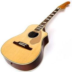 Hello Music: Fender Guitar Malibu SCE V2 Acoustic-Electric