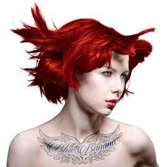 Manic Panic Classic Coloration Pour Cheveux Semi-Permanente 118ml (Rouge Baiser De Vampire)