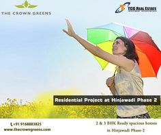 Biggest names in IT have made #Hinjawadi their home, there is a so much more that this destination has to offer to the people of #Pune #Readytomovein #Flats #2bhk #3bhk