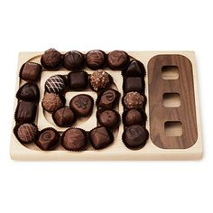 As if this will slow me down. A-Maze-ing Chocolate Server for $48.00 at UncommonGoods