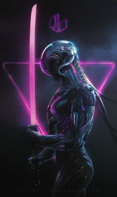 Cyborg mage by cat-meff on DeviantArt Cyberpunk 2077, Mode Cyberpunk, Cyberpunk Kunst, Cyberpunk Girl, Cyberpunk Aesthetic, Science Fiction, Dark Fantasy, Fantasy Art, Guerra Anime