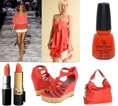Coral  Color | one of the top color trends for spring summer 2011 is coral coral ...