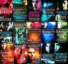 Love all the 20+ books in the Dark Hunter series!