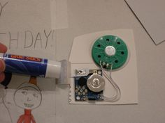 Recycle Musical Cards- a pinner's prank idea is to buy a greeting card that sings when you open it. Cut out the sound box and attach it to the door hinges. Every time someone opens the door, the music will play. Try doing this on a classroom door so every time a student comes in late, it will be extra awkward. This site tells you how to make a card.