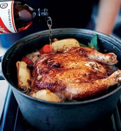 Padma Lakshmi's Red Stripe Chicken recipe