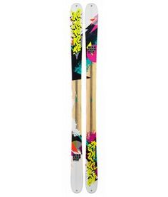 On Sale K2 Missconduct Skis w/ Marker 10.0 Free Bindings - Womens 2013