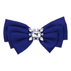 Faux Crystal Embellished Fabric Bowknot Brooch Royal (€25) ❤ liked on Polyvore featuring jewelry, brooches, artificial jewelry, pin jewelry, artificial jewellery, imitation jewelry and fake jewelry
