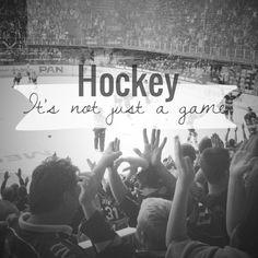 """Don't ever say to a hockey fan """"It's just a game. Hockey Rules, Flyers Hockey, Blackhawks Hockey, Chicago Blackhawks, Hockey Players, Hockey Girls, Hockey Mom, Field Hockey, Ice Hockey"""